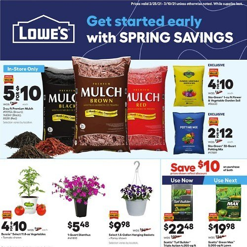 New Weekly Ad (2/25 - 3/10)