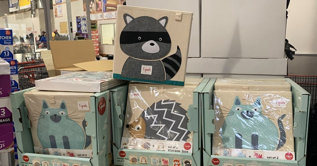2-Pack Animal Storage Cube (In Store)
