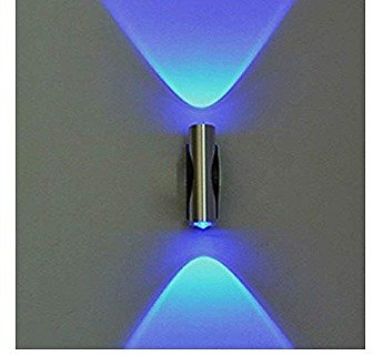 Creative Blue Light Wall Lamps