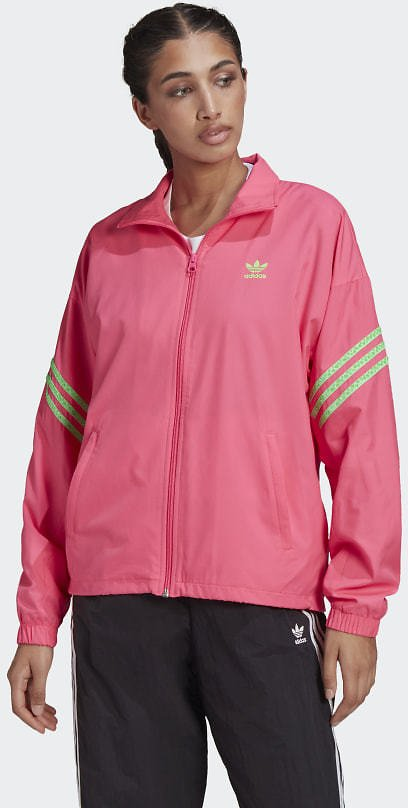 Adidas Track Jacket with Swarovski® Crystals - Pink | Adidas US