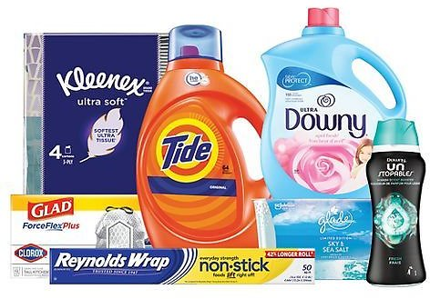 Free $15 GiftCard W/$50 Household Essentials