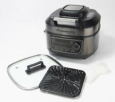 PowerXL 1550W 6-qt 12-in-1 Grill Air Fryer Combo-Certified Refurbished