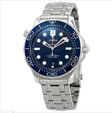 Omega Seamaster Automatic Blue Dial Steel Men's Watch 210.30.42.20.03.001