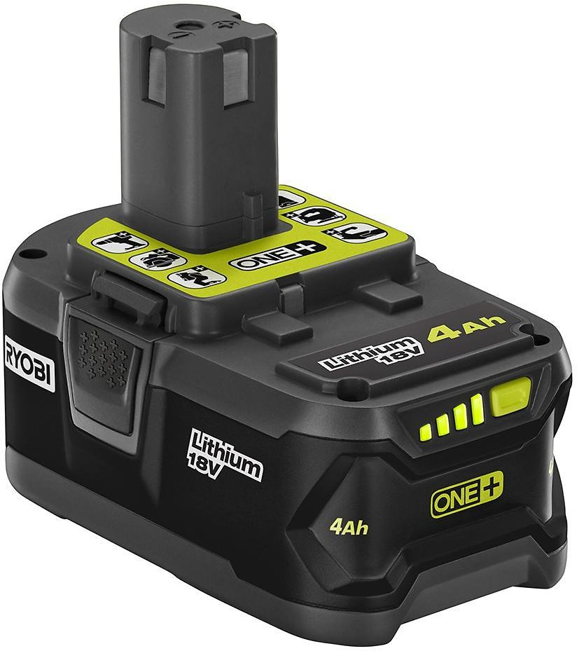 2-Ct RYOBI 18 Volt ONE+ 4.0 Ah Lithium-Ion Battery