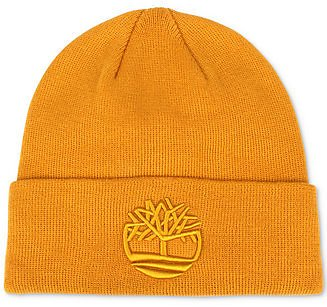 Timberland Men's Tonal 3D Embroidery Beanie & Reviews - Hats, Gloves & Scarves - Men