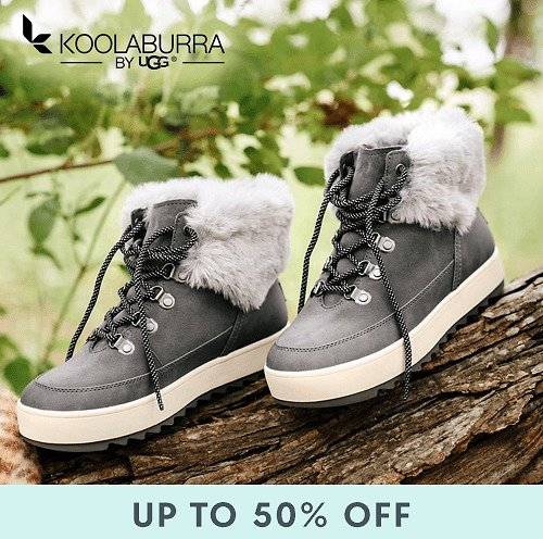 Up to 50% Off Koolaburra By UGG Boots for Women and Girls