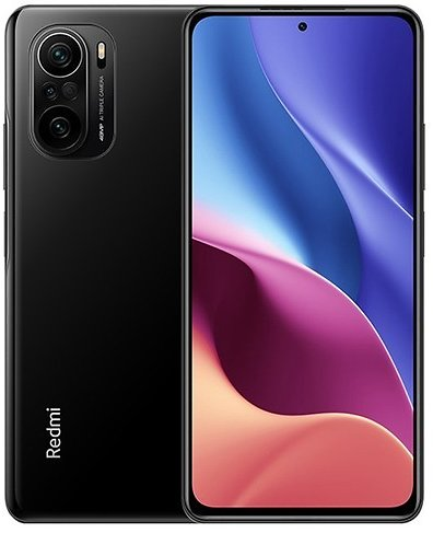 Xiaomi Redmi K40 CN Version 6.67 Inches 5G LTE Smartphone Snapdragon 870 8GB 128GB Triple Rear Cameras 48.0MP + 8.0MP + 5.0MP MIUI 12 Android 11 NFC Fingerprint Fast Charge - Black