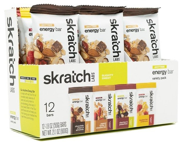 Anytime Energy Bar Variety Pack - Package of 12