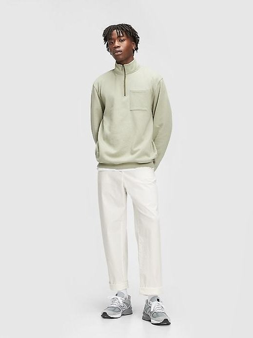 Relaxed Taper Pants with GapFlex | Gap