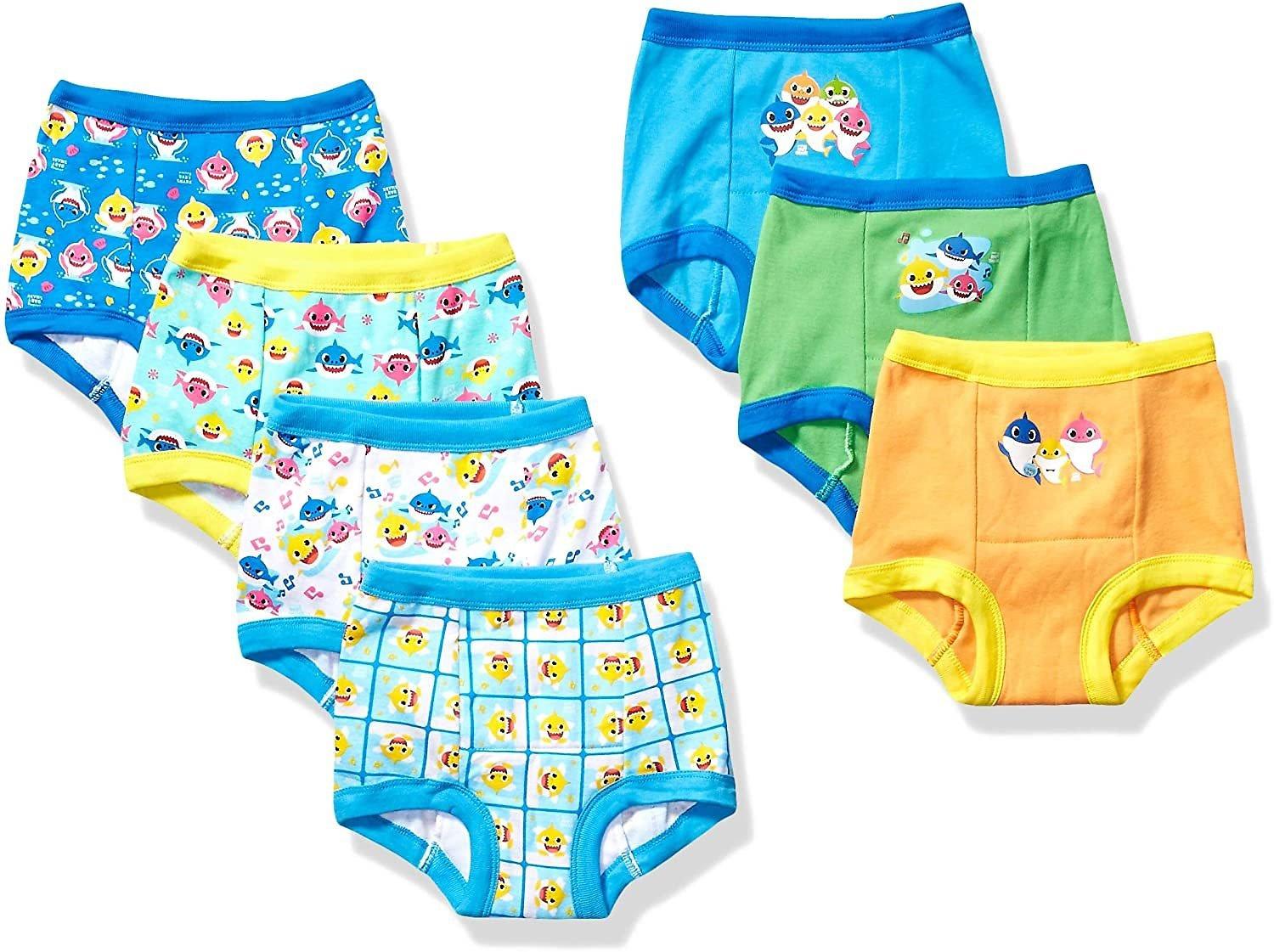 7pk Baby Shark Potty Training Pant (2T Only)