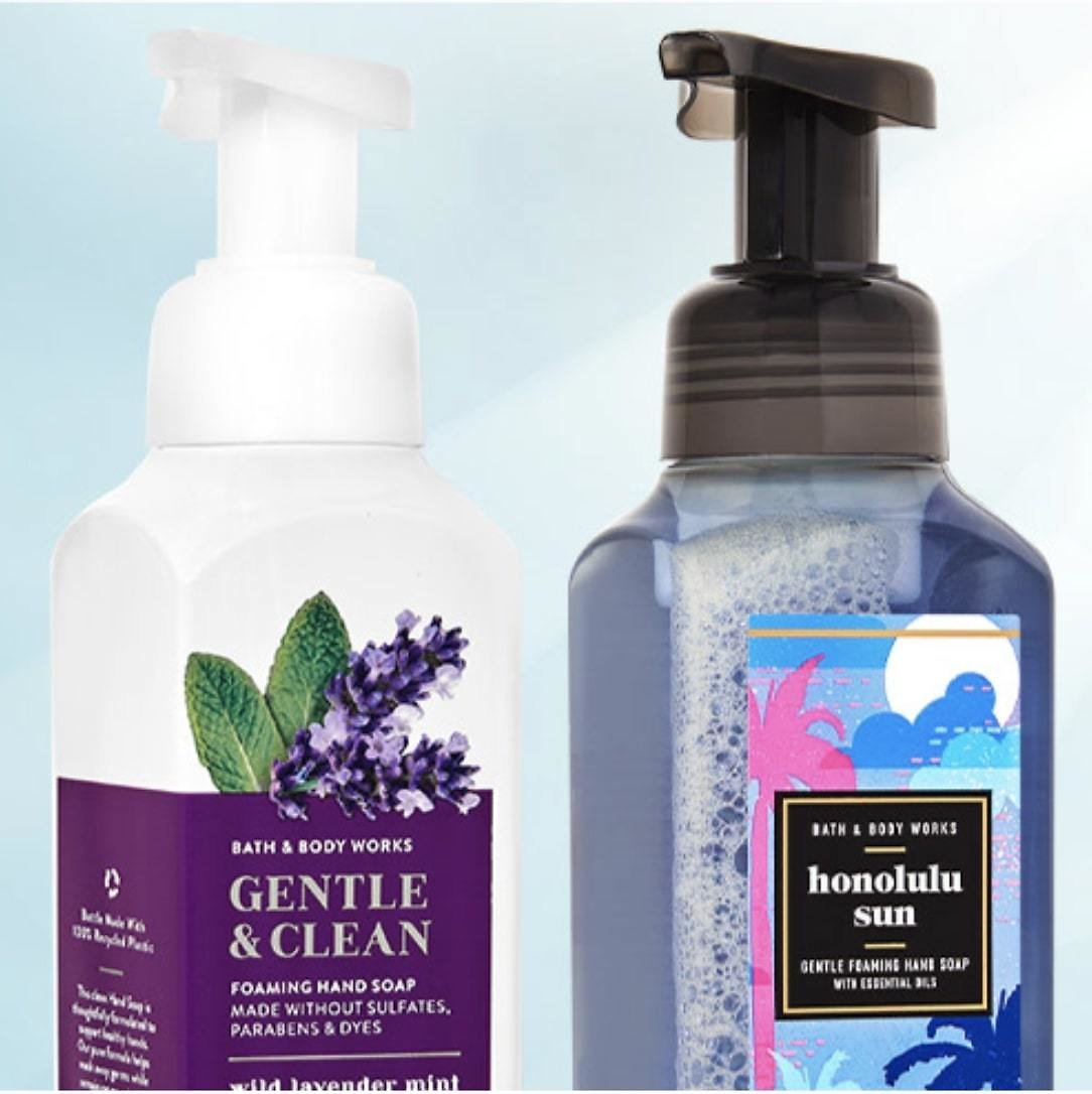 $3.75 Hand Soaps & Sanitizers + Free Shipping On $50