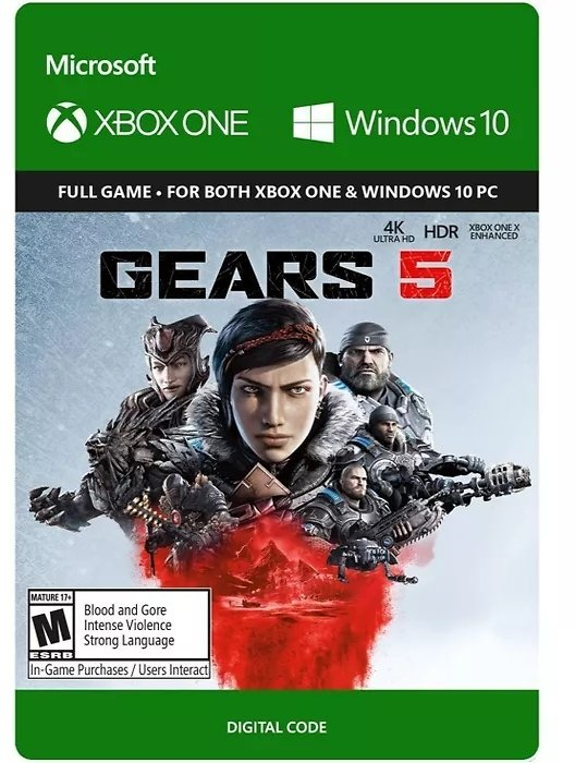 Gears 5 - Xbox One (Digital)