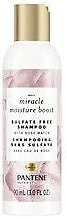 Pantene Nutrient Blends Miracle Moisture Boost Rose Water Shampoo