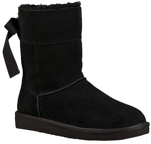 Love This Product Black Andrah Short Suede Boot