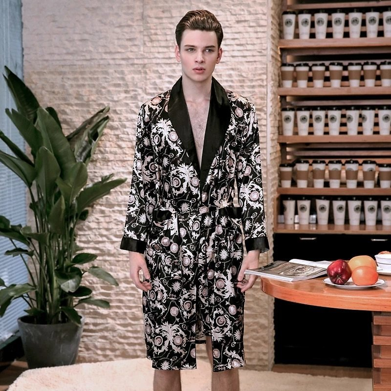 45% Off + $4 Off = $14.42 Now I Men Silk Single Robe