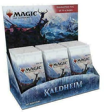 MTG Kaldheim Set Booster Box Brand New FACTORY SEALED IN STOCK 630509971138