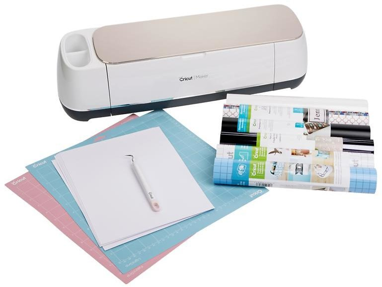 New! Cricut® Maker™ Machine with Vinyl and Tool Bundle