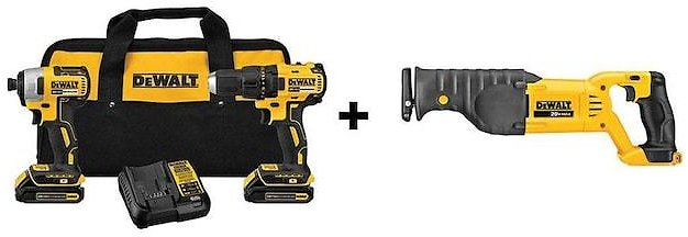 Today Only! 44% Off Dewalt Power Tool Combo Kit