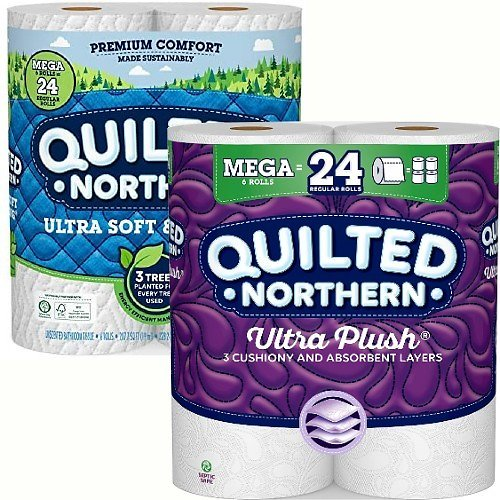6-Pack Quilted Northern Ultra Mega Rolls