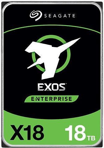 Seagate 18TB Exos X18 7200 RPM SATA 6Gb/s 256MB Cache 3.5-Inch Enterprise Hard Drive HDD (ST18000NM000J)