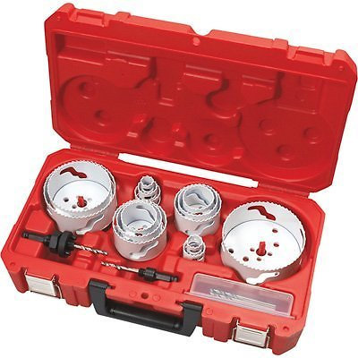 Milwaukee Master Electrician's Hole Dozer Hole Saw Kit — 19-Pc., Model# 49-22-4105 | Northern Tool