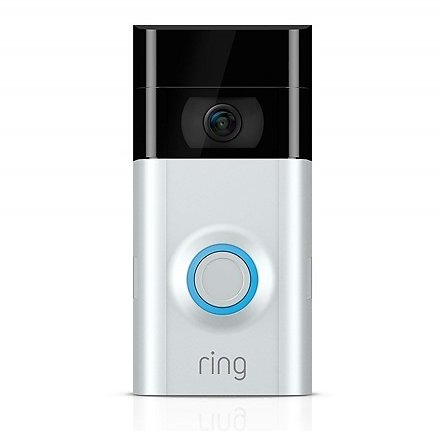 $69.99 Ring Video Doorbell 2 Wi-Fi Enabled 1080P Used