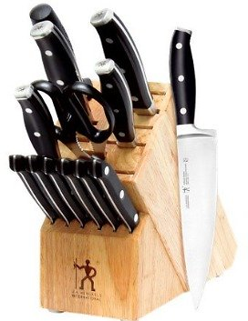J.A. Henckels International Forged Premio 14-pc Knife Block Set
