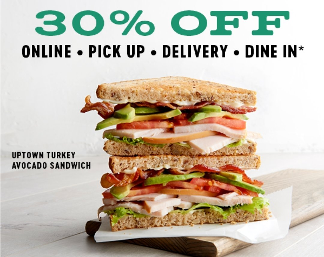 30% Off Your Order of $20 or More