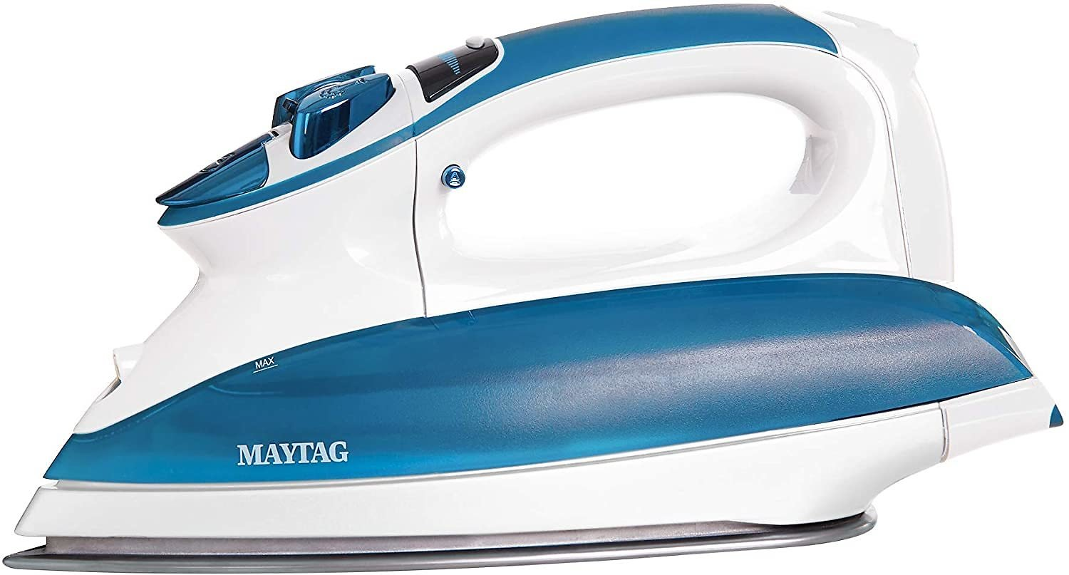 Best Price! Maytag Digital Smart Fill Steam Iron & Vertical Steamer with Pearl Ceramic Sole Plate
