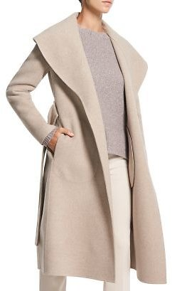 Theory Shawl Collar Wool & Cashmere Coat Women - Bloomingdale's