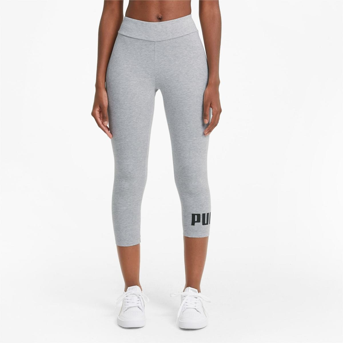 Essentials Women's 3/4 Logo Leggings