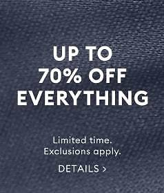 Up To 70% Off Everything + $5 Masks   Banana Republic Factory