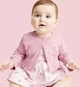 Up to 50% Off Baby & Toddler Clothing + Extra 25% Off