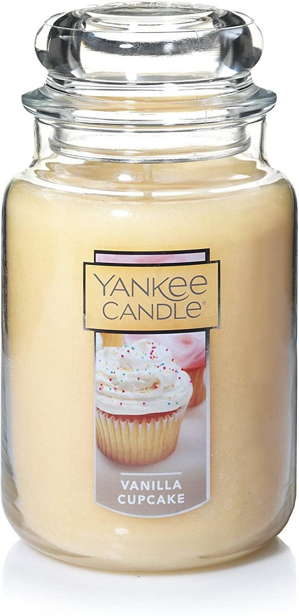 Yankee Scented Candle, Large Jar, Cream