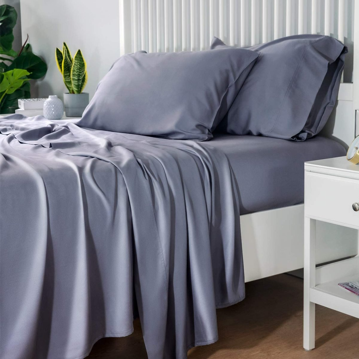 Pack of 4 - Cooling Bamboo Bed Sheet Set