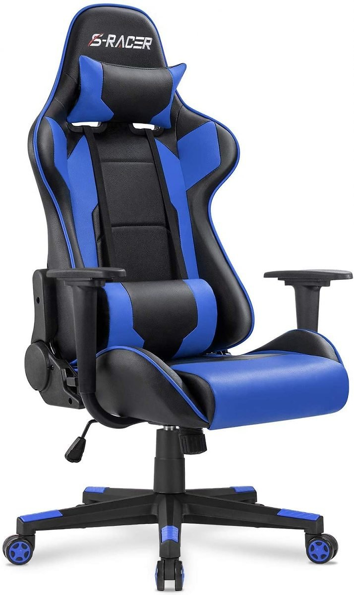 12% OFF - Homall Gaming Chair Office Chair High Back Computer Chair Leather Desk Chair Racing