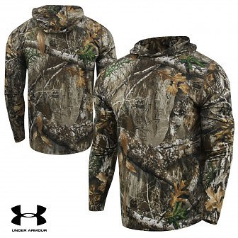 Under Armour Microthread Early Season Base Hoodie - Realtree Edge