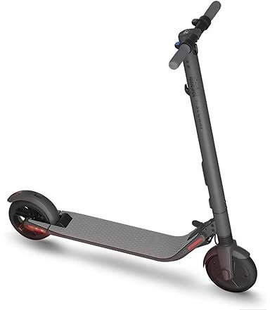 Segway Ninebot ES2 Electric Kick Scooter, Lightweight and Foldable, Dark Grey