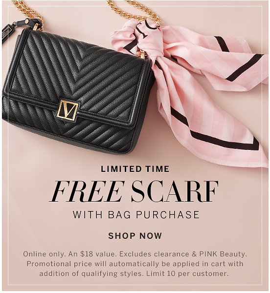 Free Scarf with Bag Purchase -