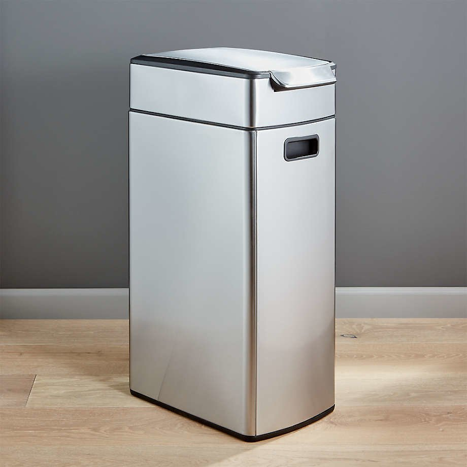 Simplehuman ® 40-Liter/10.5-Gallon Slim Touch-Bar Trash Can