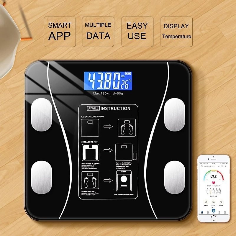 Bluetooth Body Fat Scale, Only $23.05 Now!
