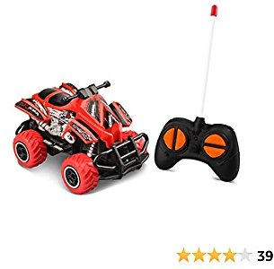 Mini RC Cars for Boys Age 4-7 Toy Cars Toys for 4 Year Old Boys Toys Age 2-3 Years Old Remote Control Car for Boys 3-5, RC Trucks Toddler Toys Age 2-4 Gifts for Boys Motorcycle Games 1/43 Scale, Red