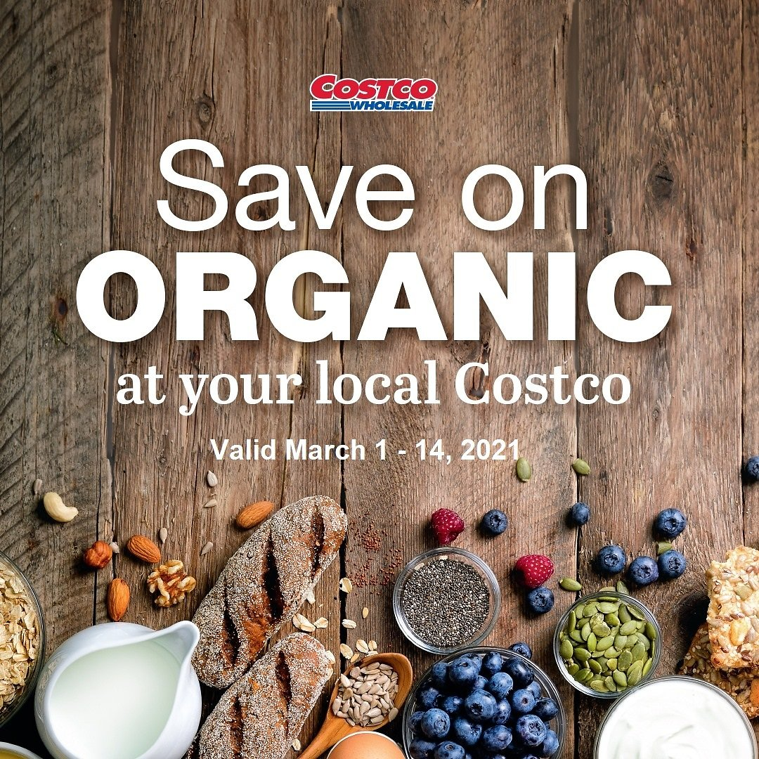 March Organic Savings (In-Store)