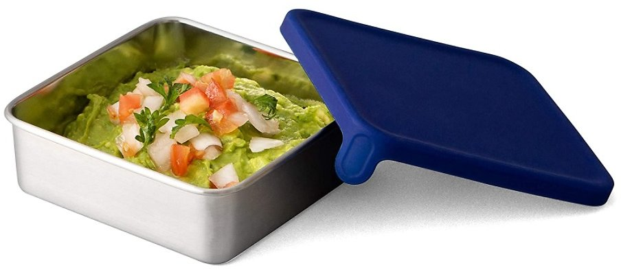 4CT PBX Stainless Steel Square Food Containers