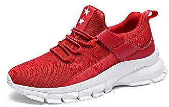 Uubaris Mens Breathable Running Shoes Comfortable Shock Cushion Sneakers Casual Walking Shoes for Men