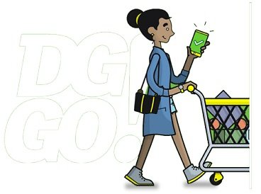 Skip The Line with DG GO! & Cart Calculator + 10% Off