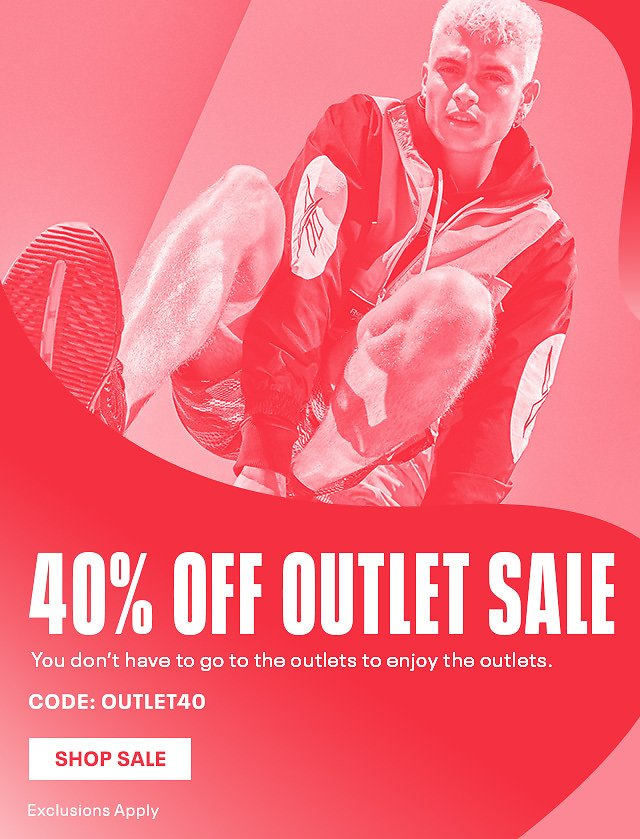 40% Off Our Outlet Collection Starts Now - Reebok US