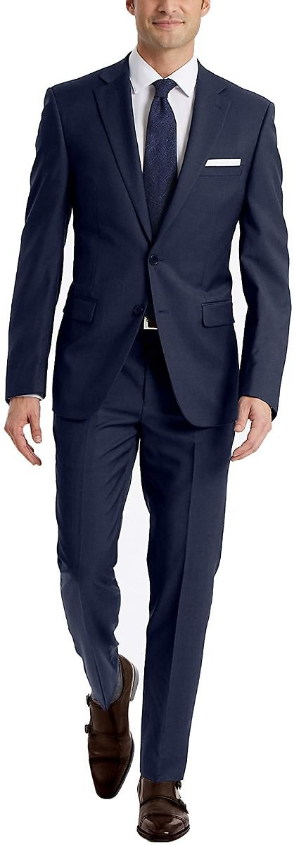 Calvin Klein Men's Slim Fit Suiting