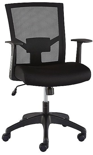 Staples Ardfield Mesh Back Fabric Task Chair