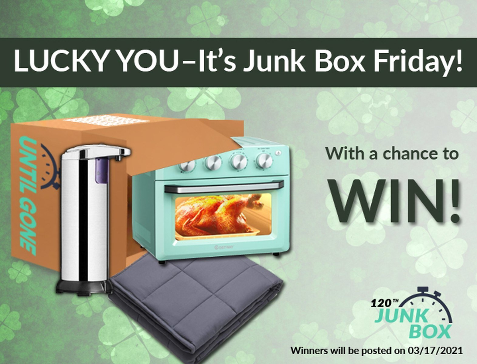 UntilGone.com Lucky You! Junk Box #120